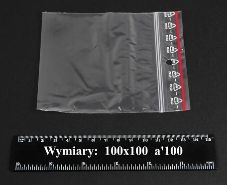 Woreczki strunowe 100x100 A'1000