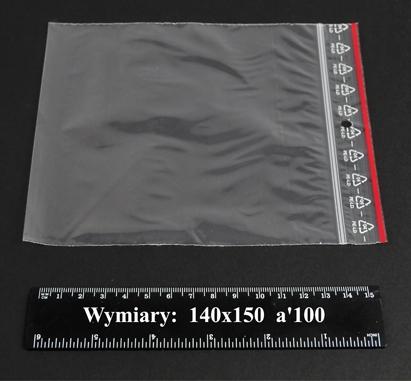 Woreczki strunowe 140x150 A'1000