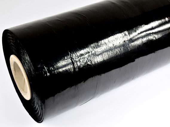 Folia stretch maszynowa Black 23 mic - 12kg