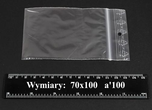 Woreczki strunowe 70x100 A'1000
