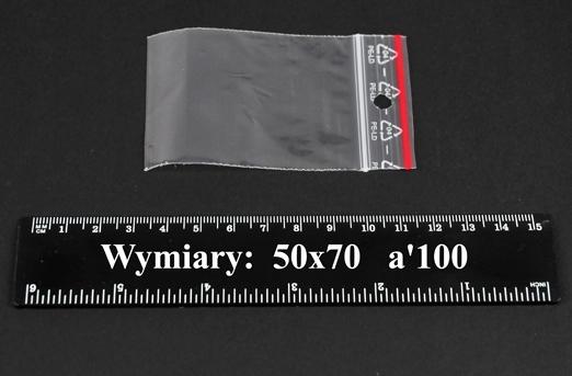 Woreczki strunowe 50x70 A'1000