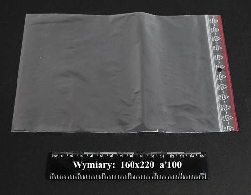Woreczki strunowe 160x220 A'1000