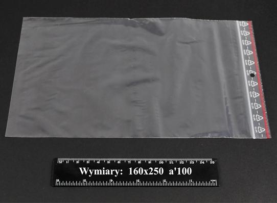 Woreczki strunowe 160x250 A'1000