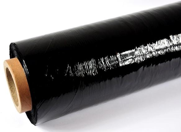 Folia stretch ręczna Black 23mic 3,0/0,4kg