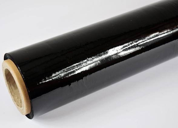 Folia stretch ręczna Black 23mic 1,5/0,6kg